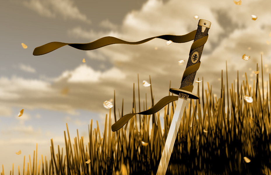 4. WAS ISLAM SPREAD BY THE SWORD? Sword_in_the_grass_by_doctororpheus
